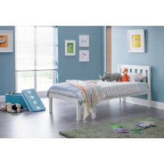Luna White Bed Frame